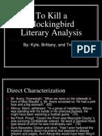 To Kill a Mockingbird Literary Analysis
