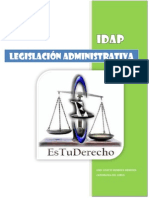 legislaciön administrativa