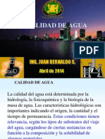 Estándares y Procedimientos Ambientales-AGUA