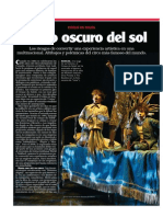 El Lado Oscuro Del Sol - Revista Noticias 5 de Mayo 2014