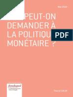 Pascal Salin - Que peut-on demander à la politique monétaire?