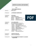 Reglamento General de Transito 2009 - Peru