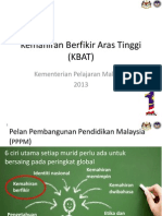 Konsep Kbat Kpm Jun 2013