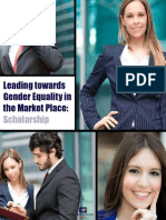 Leading towards Gender Equality in the Market Place