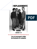 The Replacements Bible v1.4