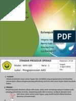 SOP AAS & Potensiometer