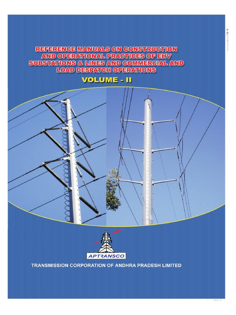 APTRANSCO Technical Reference Book 2011 Vol II | Screw | Electrical  Substation