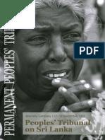 Peoples Tribunal on Sri Lanka - Permanent Peoples' Tribunal