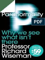 Paranormality - Wiseman Richard