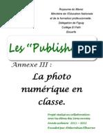 La Photo Numérique en Classe (2)