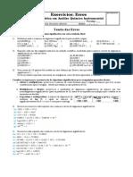 Erros, Significativos_exercícios Orientados 2013_final