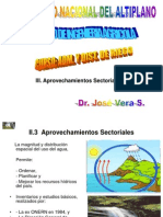 3. Aprovechamientos sectoriales