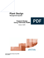 Support Design Using PDMS