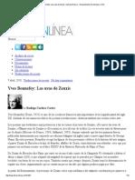 Yves Bonnefoy_ Las Uvas de Zeuxis _ Letrasenlinea.cl » Departamento de Literatura