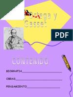 Jose Ortega y Gasset Filo