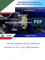 Self-excitation in Generators