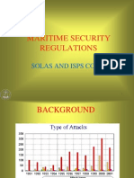 Maritime Security Policy ISPS SOLAS
