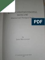 177126779 John Meyendorff Rome Constantinople Moscow