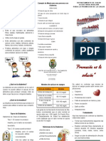 Brochure Clinica Diabetes