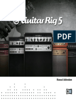 Guitar Rig 5 Manual Addendum English