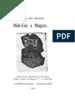 Badiny Jós Ferenc - Maghar a Magyar