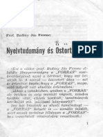 Badiny Jós Ferenc - Nyelvtudomány És Őstörténet