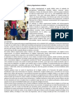 Cultura y Organizaciones en México