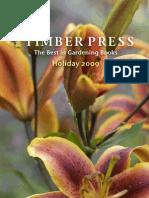 Timber Press 2009 holiday catalog