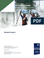 Reporte ACNUR sobre migración y ambiente
