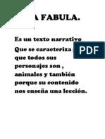 LA FABULA
