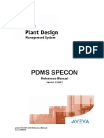 SPECON Reference Manual
