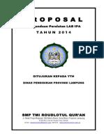 Proposal Pengadaan Lab Ipa 2014