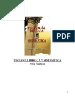 Teologia Biblica y Sistematica - Myer Pearlman