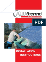 Aluthermo Quattro Installation Instructions