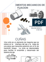 Tipos de Elementos Mecanicos de Fijacion