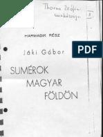 Jáki Gábor - Sumérok Magyar Földön
