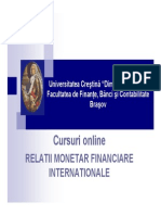 Curs 1 - Introducere in Relatii Monetar-financiare Internationale