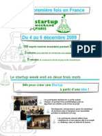 Start Up Weekend Paris - SWPA
