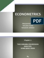 Econometrics Chap 2