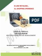 RETAIL MGMT - OnLine Retailing - Mr. Deepak Nirmal-JL060180