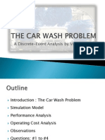 The Car Wash Problem