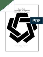State of Utah Coal Regulatory Program