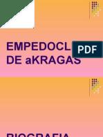EMPEDOCLES DE AKRAGAS