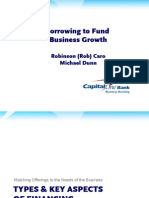 May 21st - Borrowing to Fund Business Growth - Brief Capital One (2)