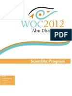 WOC2012 Scientific Program