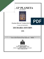 sitchin, zecharia - crónicas de la tierra 1 - el 12 planeta