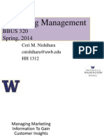 BBUS 320 - Chapter 4 - Managing Marketing Information