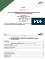 Winners Lok Sabha 2014 Analysis of Criminal and Financial Background Details of Winners English