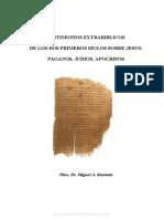Barriola Miguel a - Testimonios Extrabiblicos de Los Dos Primeros Siglos