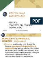 Sesion 1 - Conceptos Del Comercio Internacional